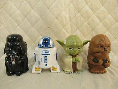 Star Wars Flashlights 4-Pack Yoda Darth Vader R2D2 Chewbacca JAKKS Pacific 2013