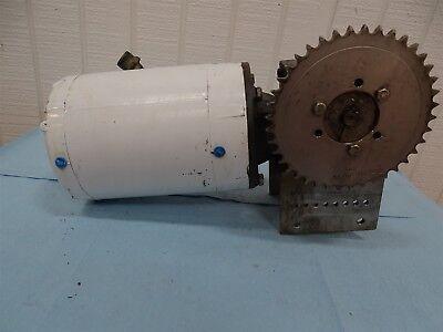 Baldor Vwdm3538 Electric Motor 12hp 1725rpm 3ph With Reducer 501ratio