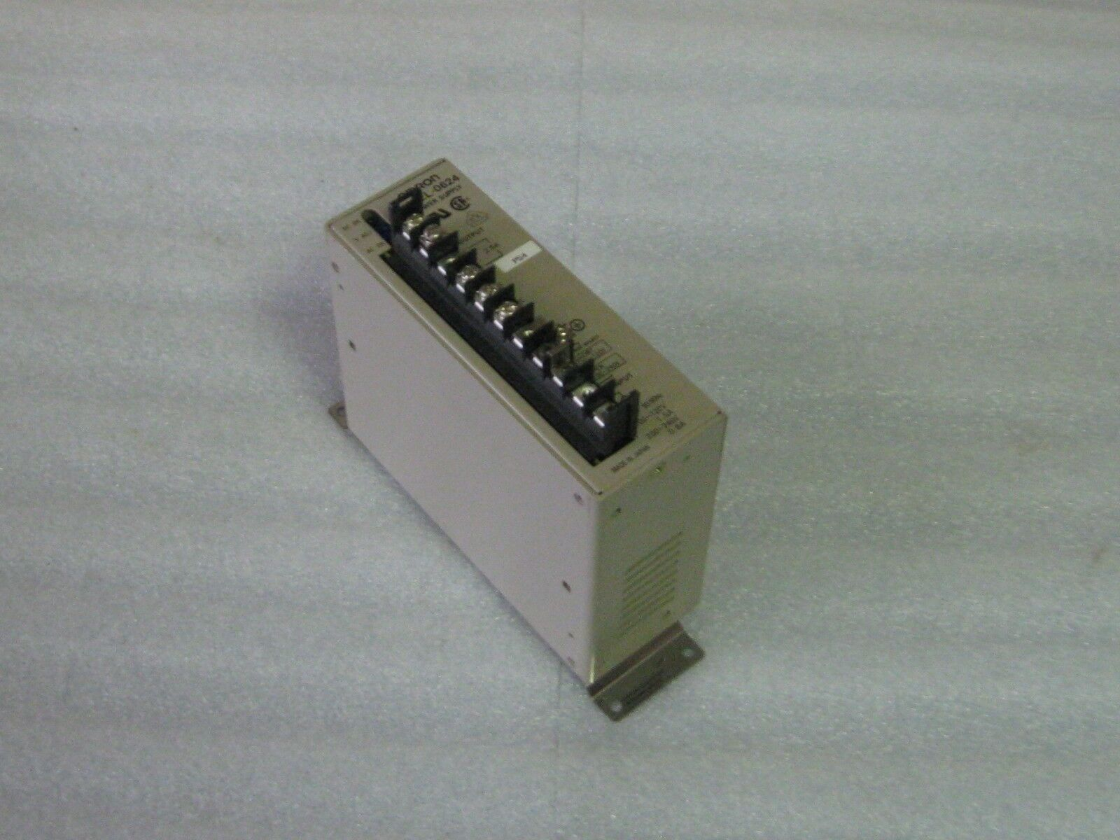Omron Power Supply,  S82L-0624, Used, Warranty