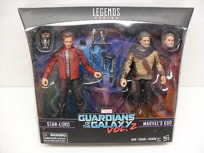"2017 Marvel Legends Guardians of the Galaxy GOTG ""Star-Lord & Ego"" Figure 2 Pack"