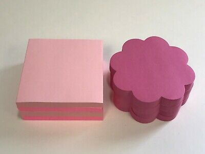 8 Pads Post-it Pop-up Notes 3 X 3 Pink Variety 75 Sheets Each