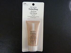 Revlon ColorStay Active Light Makeup - NATURAL BEIGE #220 - New / Sealed