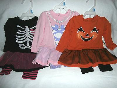 Baby Girls Halloween Costume Dress w/ Leggins - You Pick - Princess Skeleton NWT](Skeleton Princess Halloween Costume)