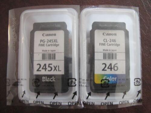 GENUINE Canon Ink Cartridges Empty 246XL & 245XL EMPTY 2-PCS