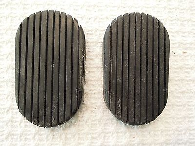 1941-1953 Cadillac Clutch or Brake Pedal Pad, New, PAIR, used for sale  Shipping to Canada