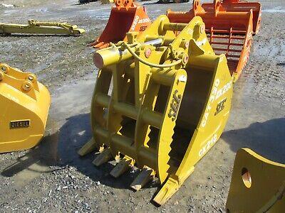New Sec 42 Tooth Bucket Thumb Cat 318 320 320l 320bl 320cl 322l 322bl El200b