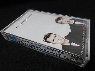 Pet Shop Boys Actually Japan Cassette Tape Petshop Synth