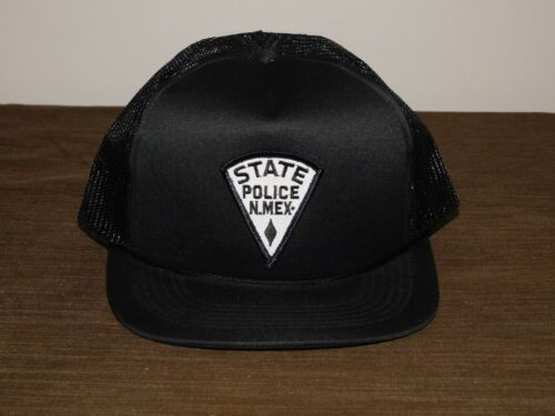 POLICE BASEBALL CAP HAT NEW MEXICO STATE POLICE  NEW UNUSED