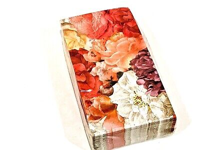 ANNIE MODICA MORMORS ROSES 3-PLY GUEST TOWEL NAPKINS 36 COUNT 3 Ply Guest Napkin
