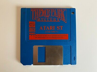 Rare Atari ST Game - Theme Park Mystery - Disc Game Only - VGC - Free P&P