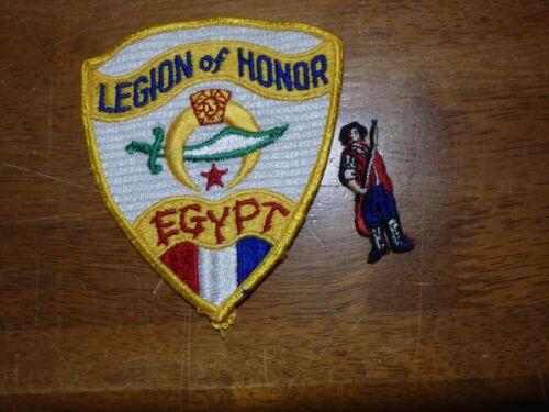 RARE MASONIC LEGION OF HONOR EGYPT  FREE MASONRY 1950