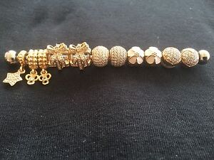 Pandora gold charms, all new!! Ellenbrook Swan Area Preview