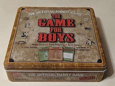 THE GAME FOR BOYS Official Handy Game! New In Tin! Family Fun!](Fun Kid Games For Boys)