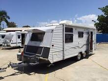 Roma Elegance Duel Axle Caravan Island bed & Air con Clontarf Redcliffe Area Preview