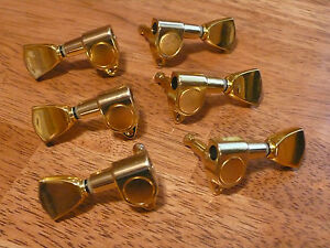 Details about electric guitar keystone tuners 3l 3r gold for gibson