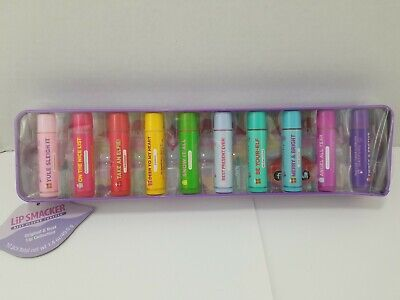 Lip Smacker original Lip Gloss Balm Best Flavor Forever Set NEW