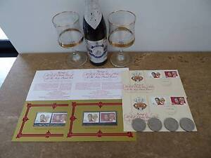 ASSORTMENT CHARLES AND DIANA COMMEMORATIVE COLLECTABLES South Guildford Swan Area Preview