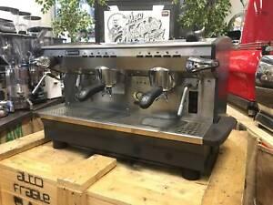 RANCILIO CLASSE 6 2 GROUP ESPRESSO COFFEE MACHINE CREMA COFFEE