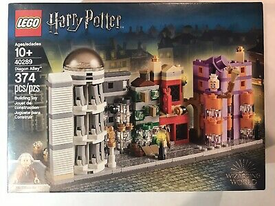 LEGO Harry Potter Diagon Alley Mini set 40289 - NEW in Factory SEALED Box Mint