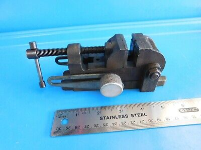 Usedvintage 1-12 In. Tilting Drill Press Vise Stamped Cf15-3 Craftsman