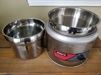 Nemco 6101a Round Countertop Commercial Soup Warmer Electric 750w