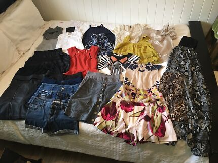 Women's size 8 clothes bundle