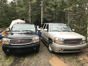 Yukon Denali 2004 and  2001