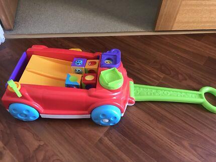 Fisher price roller blocks rockin wagon