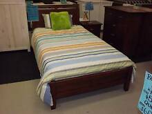Single Bed, Inner-Spring Mattress & Matching Bedside Unit. Belmont Lake Macquarie Area Preview