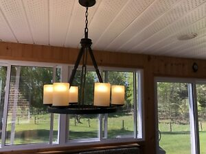 Kitchen dining light - rustic