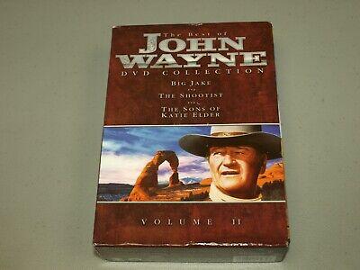 Best of John Wayne Collection VOL. 2 (DVD, 2003, 3-Disc Set) BIG JAKE,