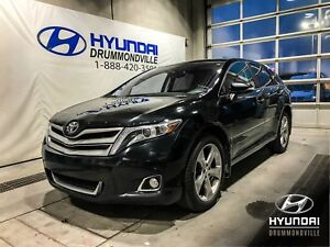 TOYOTA VENZA LIMITED V6 + GARANTIE + TOIT PANO + CUIR + MAGS + W