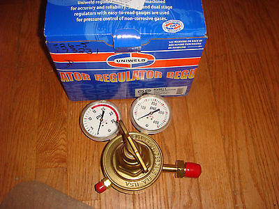 Uniweld Rv8011 Heavy Duty Single Stage Acetylene Regulator With Cga510 Inlet6884