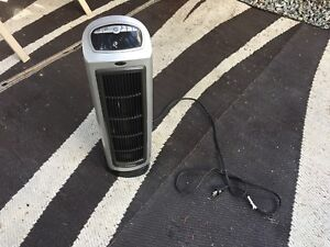 Electric Heater metallic & black