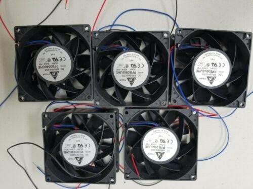 Lot of 5 Delta PFB0948UHE DC Brushless Fan