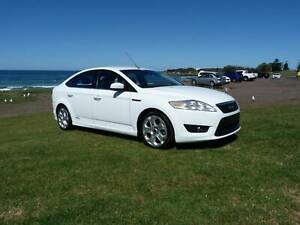Ford Mondeo XR5 TURBO,  Manual 6 speed, 162kW, WHITE