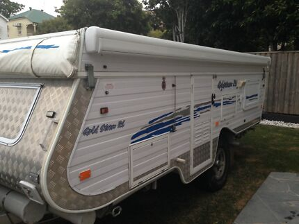 Goldstream off road camper trailer pop top caravan Bulimba Brisbane South East Preview