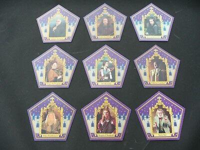 Harry Potter Chocolate Frog Wizard Cards - 9 Card Set segunda mano  Embacar hacia Mexico