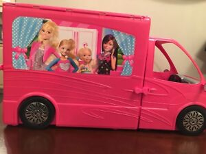 Barbie Life in the Dreamhouse Camper - very like new