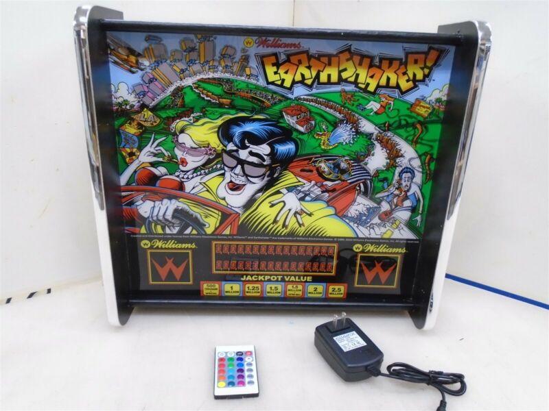 Williams Earthshaker Pinball Head LED Display light box