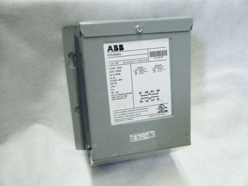 ABB 9T51B0810 Type QB, 1KVA, 1 ph. HV 240/480, LV 120/240 Buck Boost Transformer