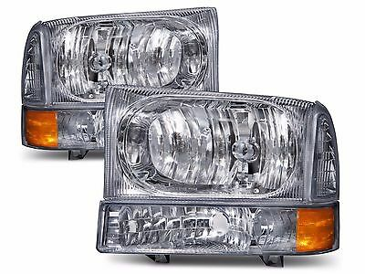 FLEETWOOD DISCOVERY 2003-2007 DIAMOND CLEAR HEADLIGHTS SIGNAL LAMP - SET