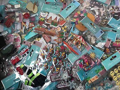 Huge Lot 17pk 3D Jolee's Boutique Scrapbooking Stickers Embellishments *NO DUPS*