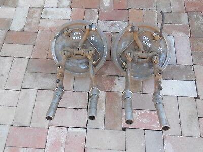 Porsche 356 A Front drum brake assemblies with control Arms  FL