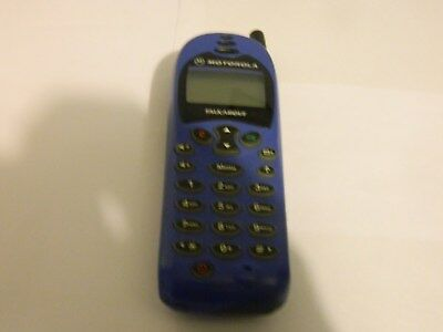 MOTOROLA TALKABOUT 180 BLUE & BLACK MOBILE PHONE