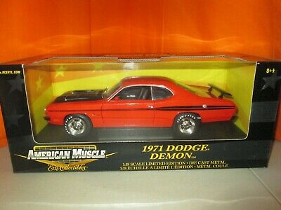 Ertl Collectibles 1971 Dodge Demon Limited Edition 1:18 Diecast in Box