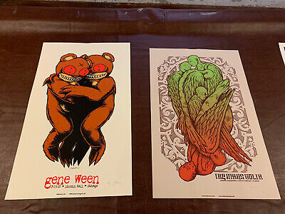 Jermain Rogers Gene Ween The Mars Volta Chicago Poster 2 Poster Listing