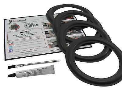 AR 3pi Speaker Foam Surround Repair Kit For Acoustic Research Woofers 4 Pack