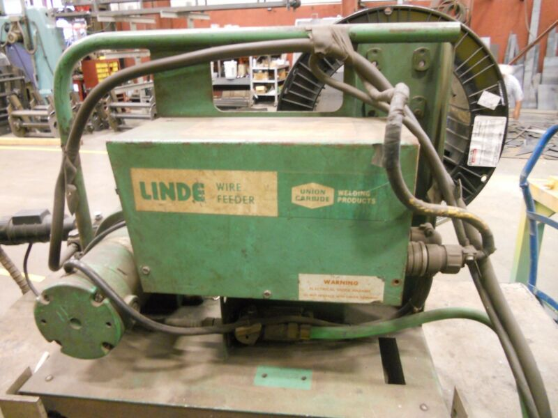 WIRE FEED Linde VI-400 Mig Welder WIRE FEEDER ONLY
