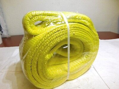Lift-all Nylon Web Sling 8ft L X 4 W 11500lb Capacity 2 Ply Ee2804dtx8 Usa